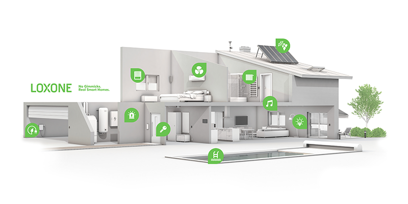 Smart Homes - Loxone 3D House
